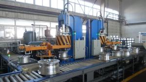 Установка контроля герметичности колесных дисков ULVAC Wheel Hub