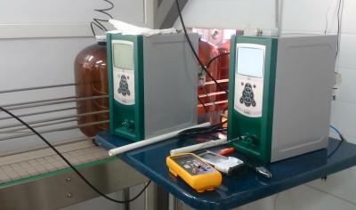 Контроль герметичности кег на конвейере