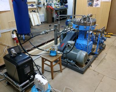 Проверка герметичности компрессора